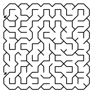 hexagon maze puzzle