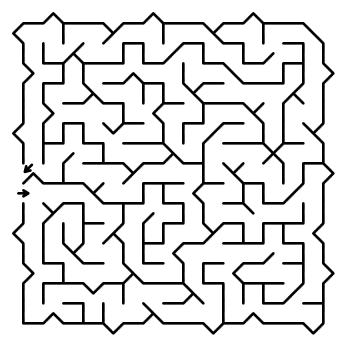 house maze puzzle