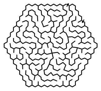 random maze puzzle
